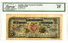 CHINA 1899-1911 OLD UNI FACE HONG KONG MACAO MACAU STATE MONEY BILL NOTE