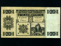 Netherlands:P-44,20 Gulden,1931 * Sailor * VF *