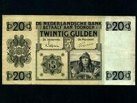 Netherlands:P-44,20 Gulden,1931 * Sailor * VF *