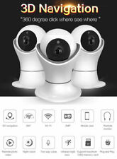 Wireless Wifi Camera 360° Panoramic Cam HD P2P IP LED Night Vision CCTV Security