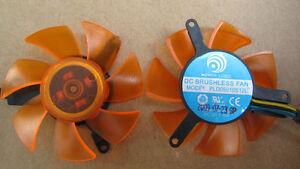 45mm PL05010S12H Fan 12V 0.2A 39*39*39mm