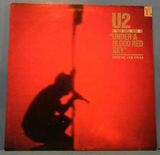 U2 LIVE UNDER A BLOOD RED FIRE VINYL EP '83 ORIGINAL GREAT CONDITION! VG+/VG+!!C