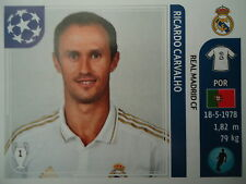 Panini 212 Ricardo Carvalho Real Madrid UEFA CL 2011/12