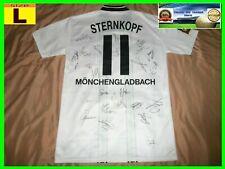 Borussia Mönchengladbach #11 STERNKOPF SPIELER TRIKOT HOME match worn shirt 1996