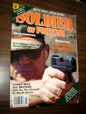Soldier Of Fortune Magazine November 1995 Waco Hearings-on ground in NORTH KOREA