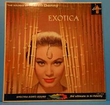 MARTIN DENNY EXOTICA (VOL 1) LP MONO 1957 RE '60 GREAT CONDITION! VG+/VG++!!C