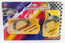 Fouring Universal JDM Automatic Brake Gas Racing Pedal Pads For Cars 2 piece Set