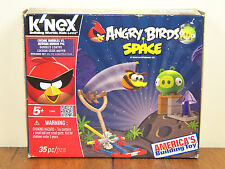 Angry Birds Space K'nex Cosmic Bubbles Vs Minion Pig Knex Building 72006 *New*