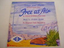 FREE AS AIR - ORIGINAL CAST RECORDING - MUSICAL - rare