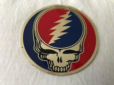 """Grateful Dead Skull Logo - 3 items - 1"""" - 1 9/16"""" - 3 1/8"""" - Good condition"""
