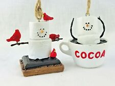 2 S'mores Originals Marshmallow Hot Cocoa Men Red Birds Cup