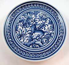 Hand Painted Decorative Small Plate XVII Century Recreation Made in Portugal