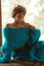BIG FLUFFY SOFT MOHAIR DRESS & Scarf