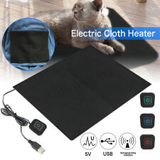 DC 5V 3-Shift USB Electric Cloth Heater Pad Heating Element for Pet Warmer   ❤