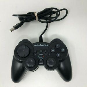 SteelSeries USB 2.0 Rumble Windows/Mac Black Programmable Gaming Controller
