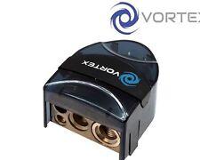 Vortex V-107 coche negativo de la batería abrazadera de terminal 1 X 1/0awg, 1 x 4awg, 2 X 8awg