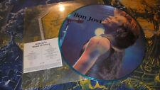 Bon Jovi – Blaze Of Glory LV 116 COSMIC COMMUNICATIONS Live Picture LP vinyl