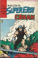 RACCOLTA SUPER-EROI n° 5 (Corno, 1979) CONAN & KAZAR 22 - 28 - 24