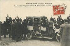 Paris - Madrid 27 May 1911 AVIATION (and motoring interest)
