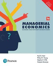 Managerial Economics, 7e by Keat Paul and K Young Philip