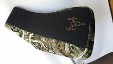 SUZUKI KING QUAD 300  camo GRIPPER seat cover bonz skull camo FITS 1999 UP YEARS