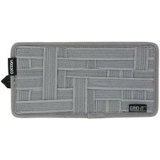 """COCOON CPG5GY 5.13"""" x 10"""" Grid-It Gadget Organizer(Gray)for Cellphone,Pen,Wallet"""