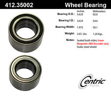 Centric Parts 412.35002 Front Wheel Bearing