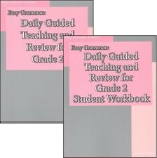 Easy Grammar - Daily Guided Teaching & Review Grade 2 SET -- T Manual & Workbook