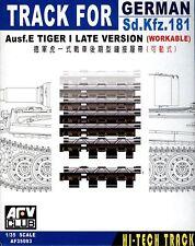 AFV Club 1/35 AF35093 WORKABLE Track link for WWII German Tiger I Late Version
