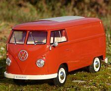 RC Modell VW BUS T1 TRANSPORTER mit LICHT Länge 26cm Ferngesteuert 27MHz  405085