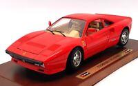 Burago 1/18 Scale Model Car FER15 - 1984 Ferrari GTO - Red
