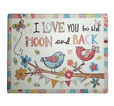 I Love You To The Moon & Back Wooden Fridge Magnet Mother's Day Mothering Sunday