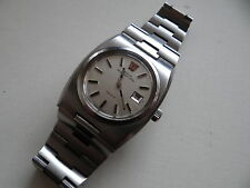RARE LADIES VINTAGE 1974 1320 cal OMEGA MEGAQUARTZ 32KHz STAINLESS STEEL WATCH