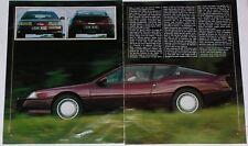 Article Articolo 1985 RENAULT ALPINE GTA V6 TURBO