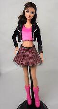 Bambola Barbie Fashion Fever Rockstar Vestito NO BAMBOLA