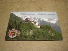 Liechtenstein , KMS / Coin Set , Münzen Schweiz, 8,86 Franken im Original Folder