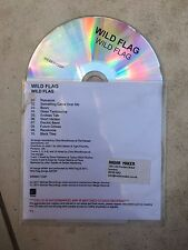 Wild Flag S/T Promo CD 2011 Wichita Recordings Sleater-Kinney