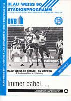II. BL 91/92 Blau-Weiß 90 Berlin - Eintracht Braunschweig, 01.09.1991