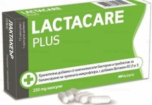 LACTACARE PLUS / Synbiotic for the balance of the intestinal microflora 230 mg