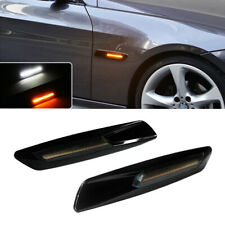 Front Side Marker Lights For BMW 1 3 5 X3 Series with White/Amber