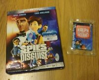 Spies in Disguise (Blu-ray Disc, 2020) + DVD/Digital Code, NEW, + Bonus