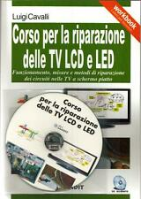 CORSO RIPARAZIONE TV LCD E LED SPIEGAZIONE MISURE SUI CIRCUITI SOLUZIONE GUASTI