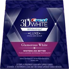 Crest:  2 pack 3D White Luxe Whitestrips Professional Effects, ,36Treatments