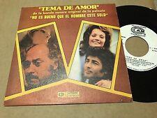 """ALFONSO SANTIESTEBAN 7"""" SINGLE BANDA SONORA NO ES BUENO QUE EL HOMBRE ESTE SOLO"""