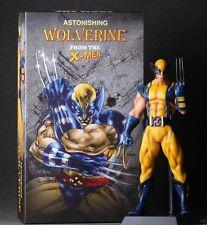 "Crazy Toys Marvel Comics ASTONISHING X-MEN Wolverine PVC Figure Statue 10"""