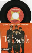THE DOVELLS  YOU CAN'T SIT DOWN  PICTURE SLEEVE & 45 ON PARKWAY