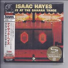Isaac HAYES Live at the Sahara Tahoe 2 CD Japon MINI LP CD SHM Stax UCCO - 9517/8
