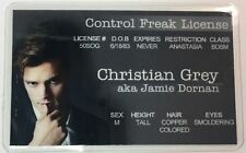 Christian Grey - 50 Shades Of Grey - Control Freak License - Novelty