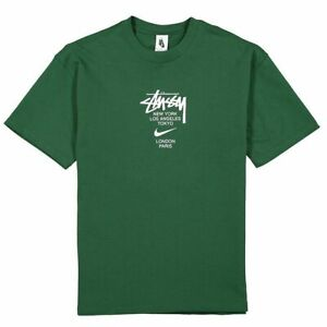 STUSSY X 20FW Joint Limited Men Women Short Sleeve T-Shirt 3 Color