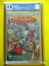 Amazing Spider-Man #125 - Cgc 8.0 - Origin of Man-Wolf